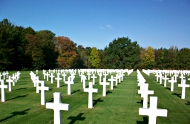 The Ardennes American Cemetery at Neupre, Belgium